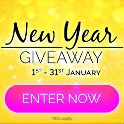 Online Slots UK Casino: New Year Giveaway 2021