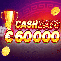 Cash Days with €60,000 at Lucky Bull Casino
