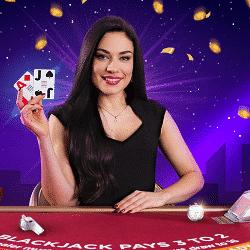 Play Blackjack the Strip for €5,000 at NextCasino