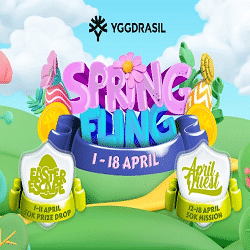 Craze Play - Spring Fling: Yggdrasil Games + 100K Prizes