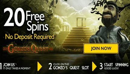The Grand Ivy Casino bonus spins