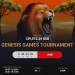 5PlusBet Casino: Genesis Games Tournament