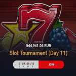 5 Plus Bet presents: Slot Tournament - Day 11