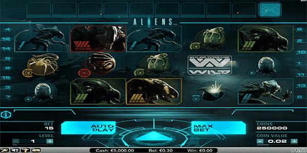 Aliens Netent Slot