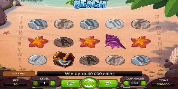 Beach Netent Slot