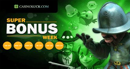 Caino Luck Bonus Week
