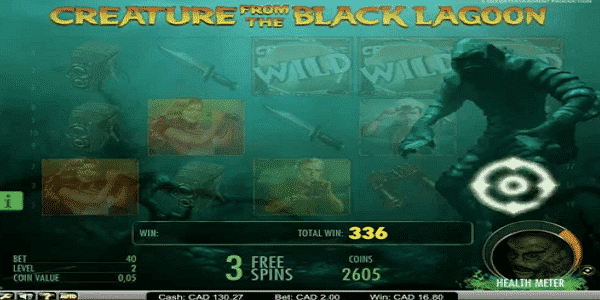 Creature From The Black Lagoon Netent Slot