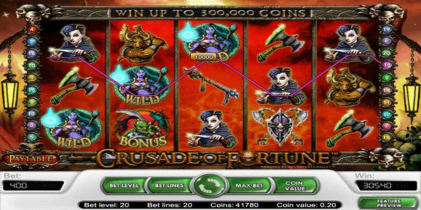 Crusade Of Fortune Netent Slot