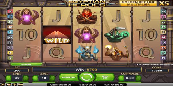 Egyptian Heros Netent Slot