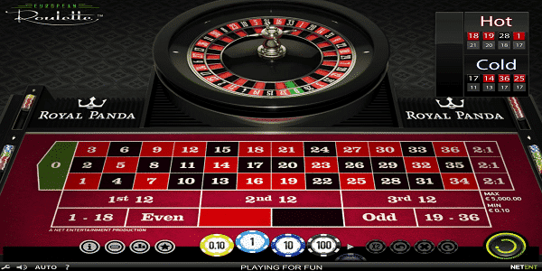 European Roulette Netent Slot