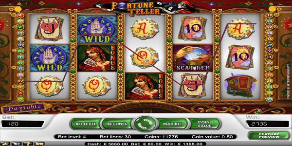 Fortune Teller Netent Slot