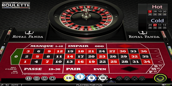 French Roulette Netent Slot