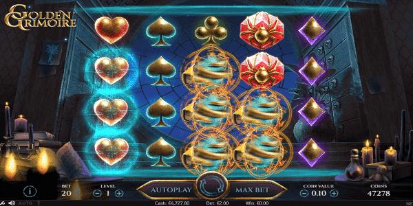 Golden Grimoire Netent Slot