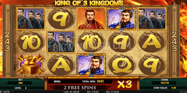 King Of 3 Kingdoms Netent Slot