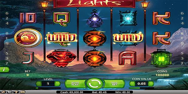 Lights Netent Slot