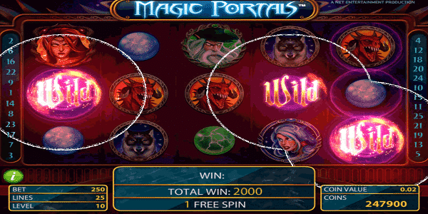 Magic Portals Netent Slot