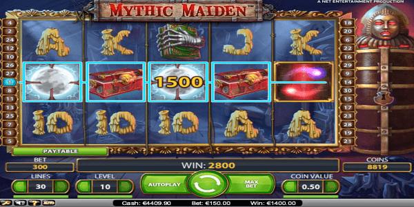 Mythic Maiden Netent Slot