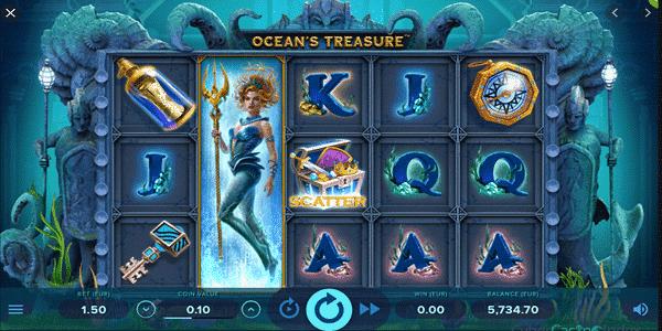 Ocean's Treasure Netent Slot