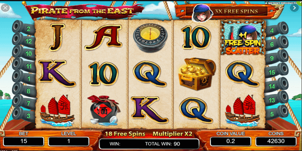 Pirate From The East Netent Slot