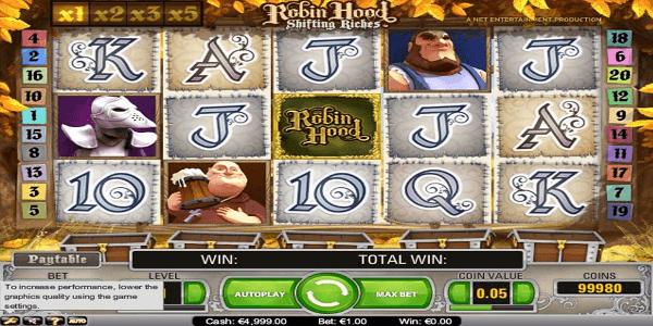 Robin Hood Netent Slot