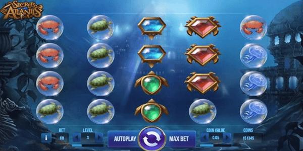 Secrets of Atlantis Netent Slot