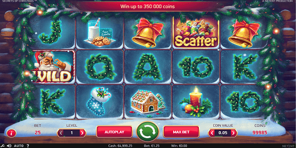 Secrets of Christmas Netent Slot