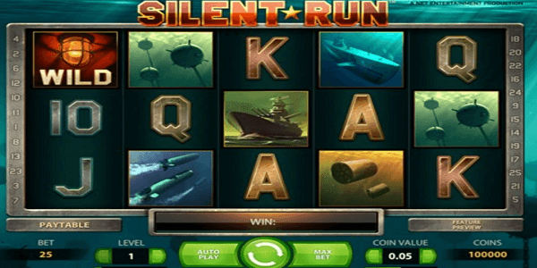 Silent Run Netent Slot