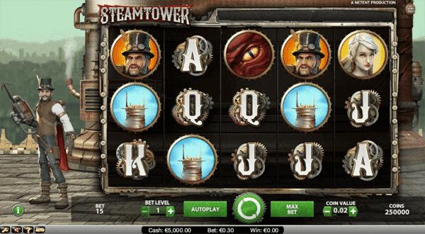 Steam Tower Netent Slot