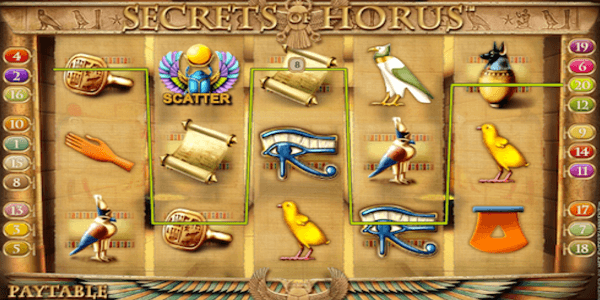 The Secrets Of Horus Netent Slot