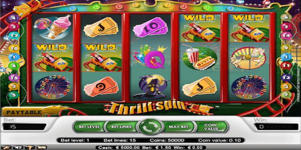 Thrill Spin Netent Slot