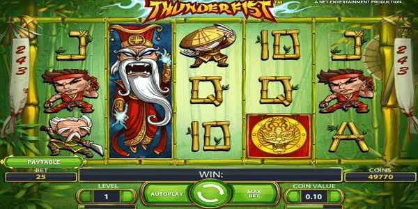 Thunderfist Netent Slot