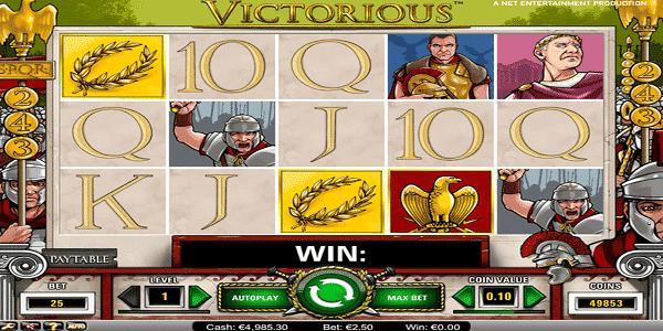 Victorious Netent Slot