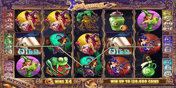 Wild Witches Netent Slot
