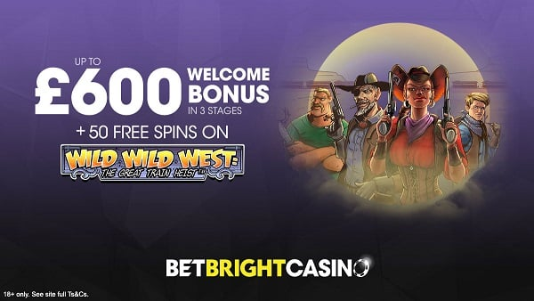 BetBright Casino welcome bonus