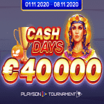Boo Casino - Playson Tournament: €40,000