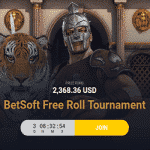 $2,368.36 Free Roll Tournament by Campeonbet