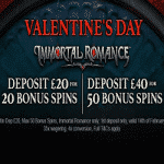 Valentine's Day Bonus Spins from Casino Dames