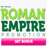 The Roman Empire promo comes to CasinoLuck