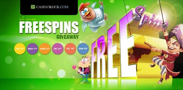 CasinoLuck promotions