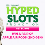 Hyped Slots: new CasinoLuck promotion