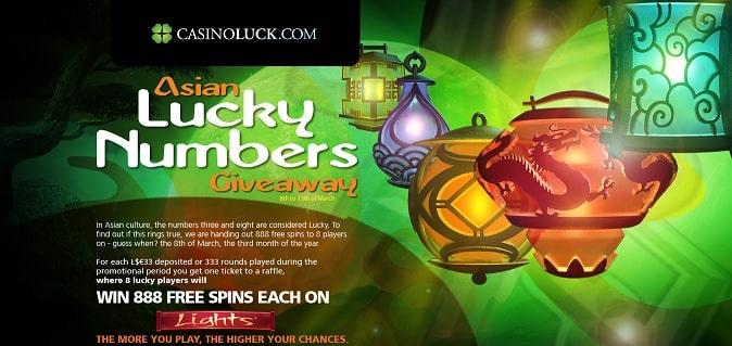 Casino Luck promotion