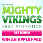 CasinoLuck Mega Promotion - Mighty Vikings