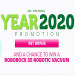 The Year 2020 Promotion by CasinoLuck
