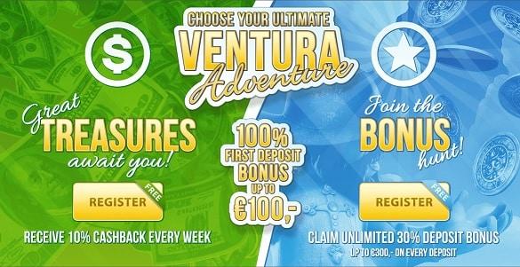 Casino Ventura promotions