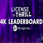 License to Thrill: 4K Leaderboard at Coin Falls