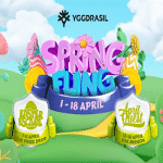 Craze Play - Spring Fling: Yggdrasil Games + 100K Prizes