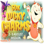 Ego Casino: 50K Lucky Charms - August Mission