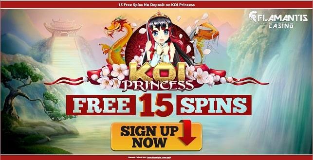 Flamantis free spins