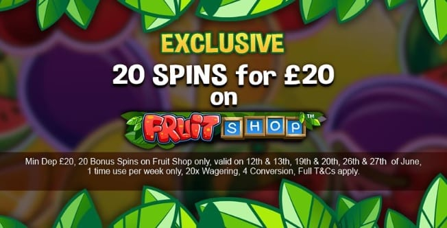 Fortune Mobile Casino Promotion