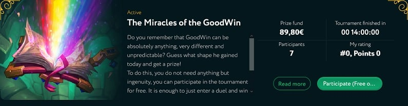 GoodWin Casino Promotion